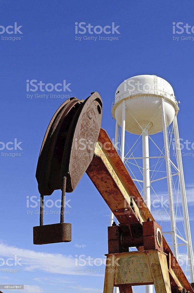 Pump Jack stock photo