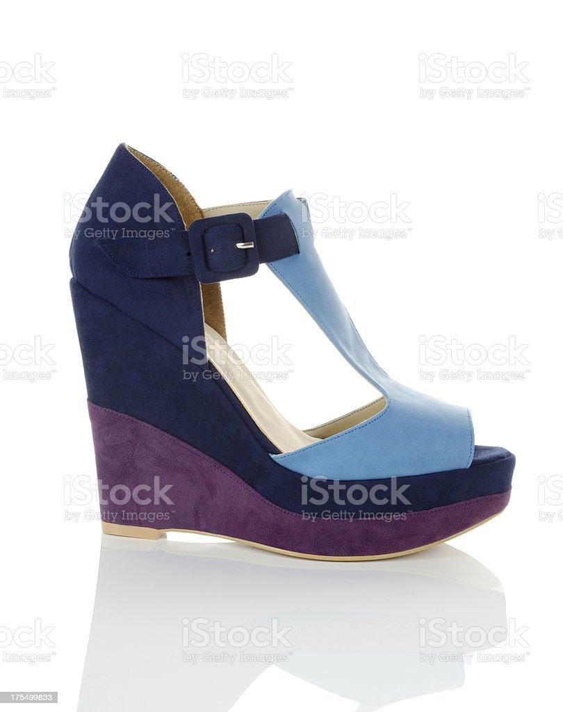 pump shoe royalty-free stock photo