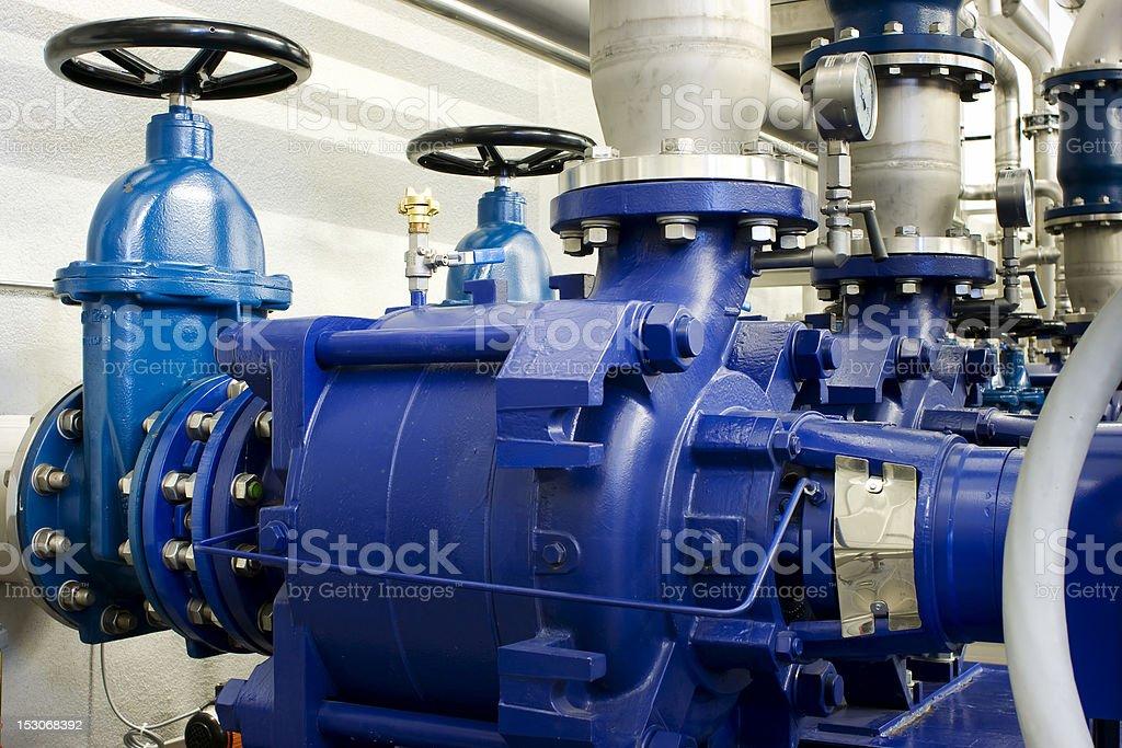 Pump Station stock photo
