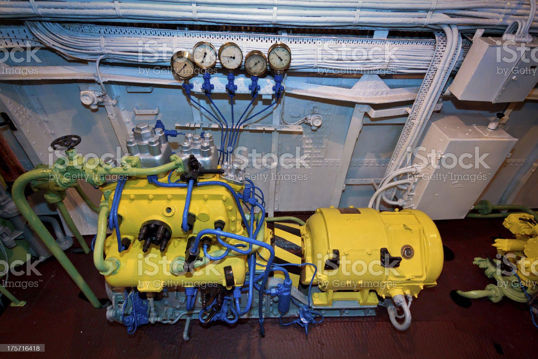 Pump Station royalty-free stock photo