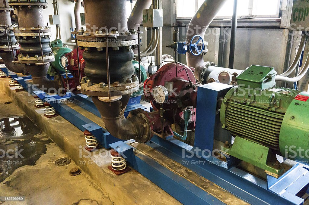 Pump Systems stock photo