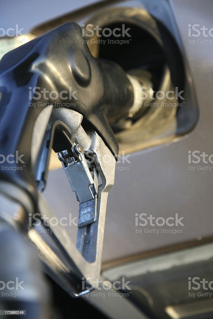 Pump the Gas royalty-free stock photo
