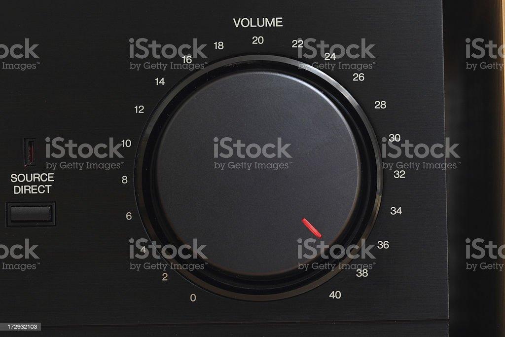Pump up the Volume stock photo