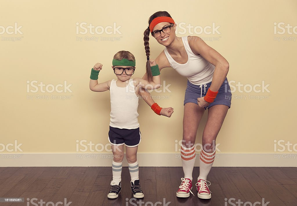 Pump You Up royalty-free stock photo