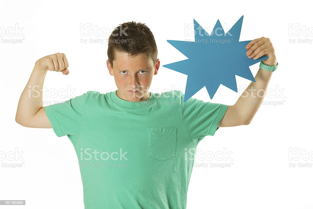Pumped up! royalty-free stock photo