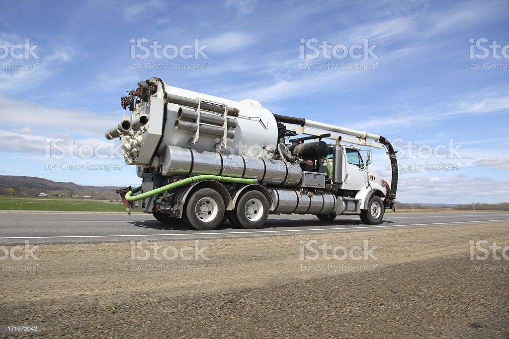 Pumper truck stock photo