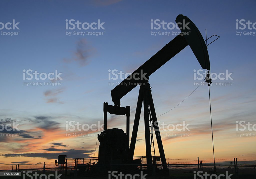 Pumpjack 3 royalty-free stock photo