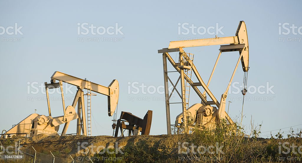 Pumpjack 6 royalty-free stock photo