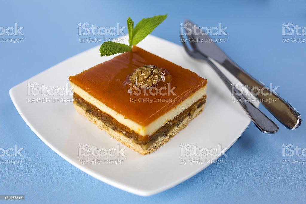 Pumpkin Cake royalty-free stock photo