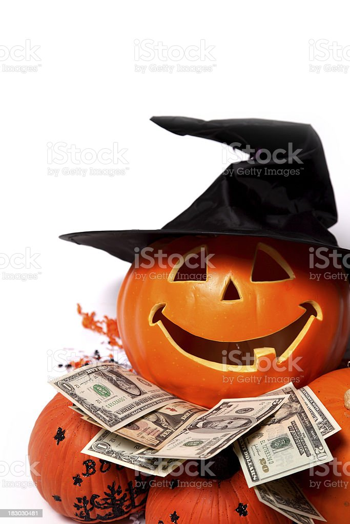Pumpkin Cash royalty-free stock photo