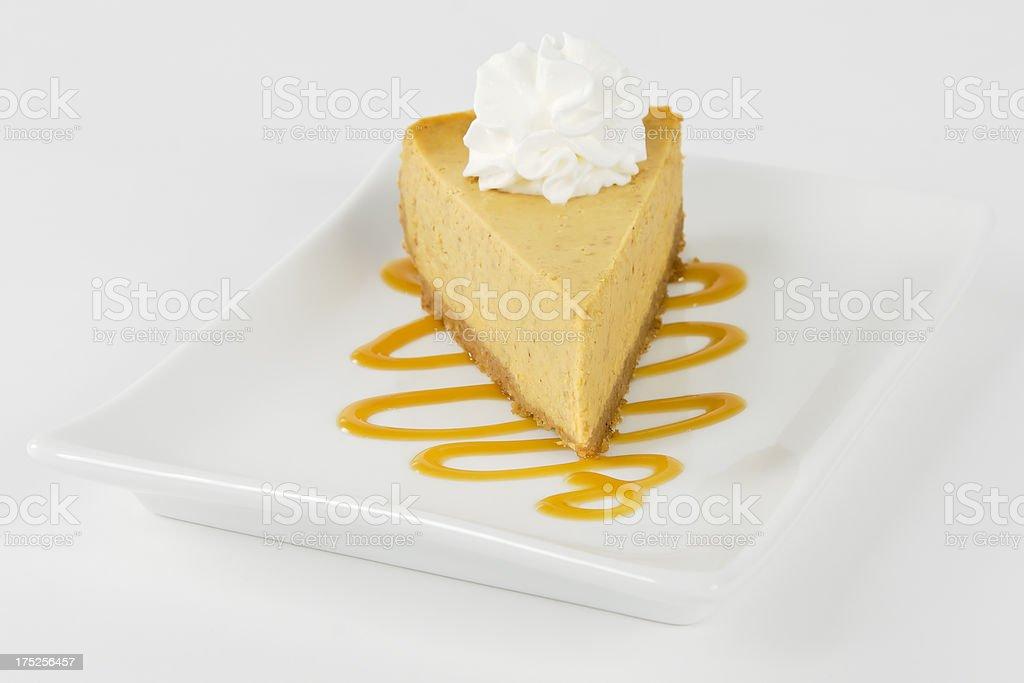Pumpkin Cheesecake Series stock photo