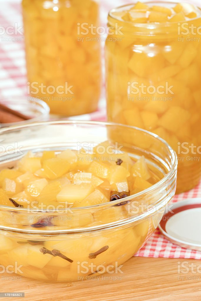 Pumpkin compote royalty-free stock photo