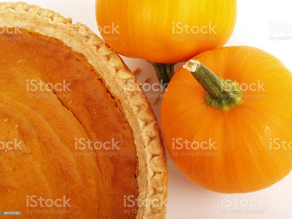 Pumpkin Dessert royalty-free stock photo