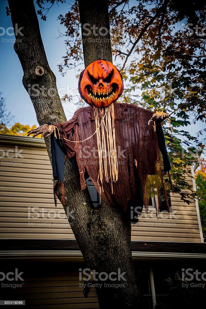 Pumpkin Halloween Decoration stock photo