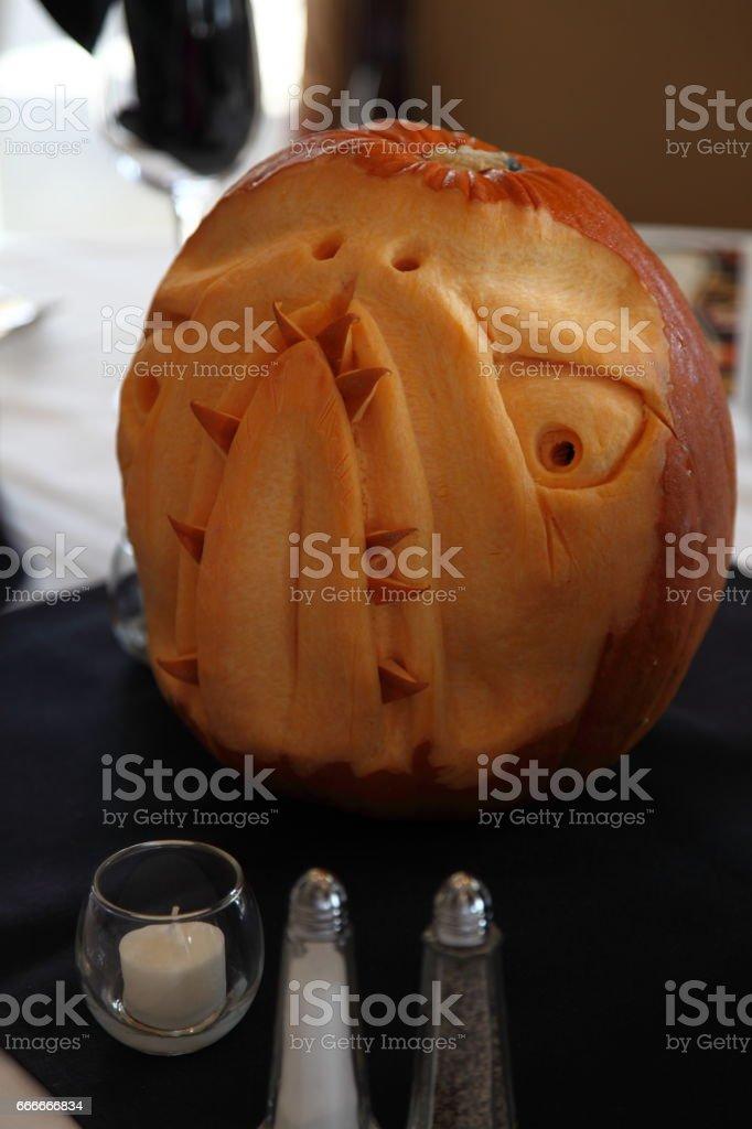 Pumpkin. Halloween. stock photo