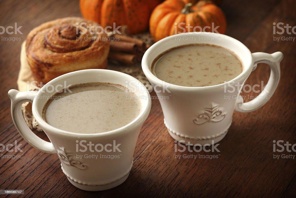 Pumpkin Latte royalty-free stock photo
