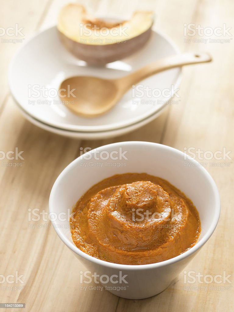 pumpkin mash royalty-free stock photo