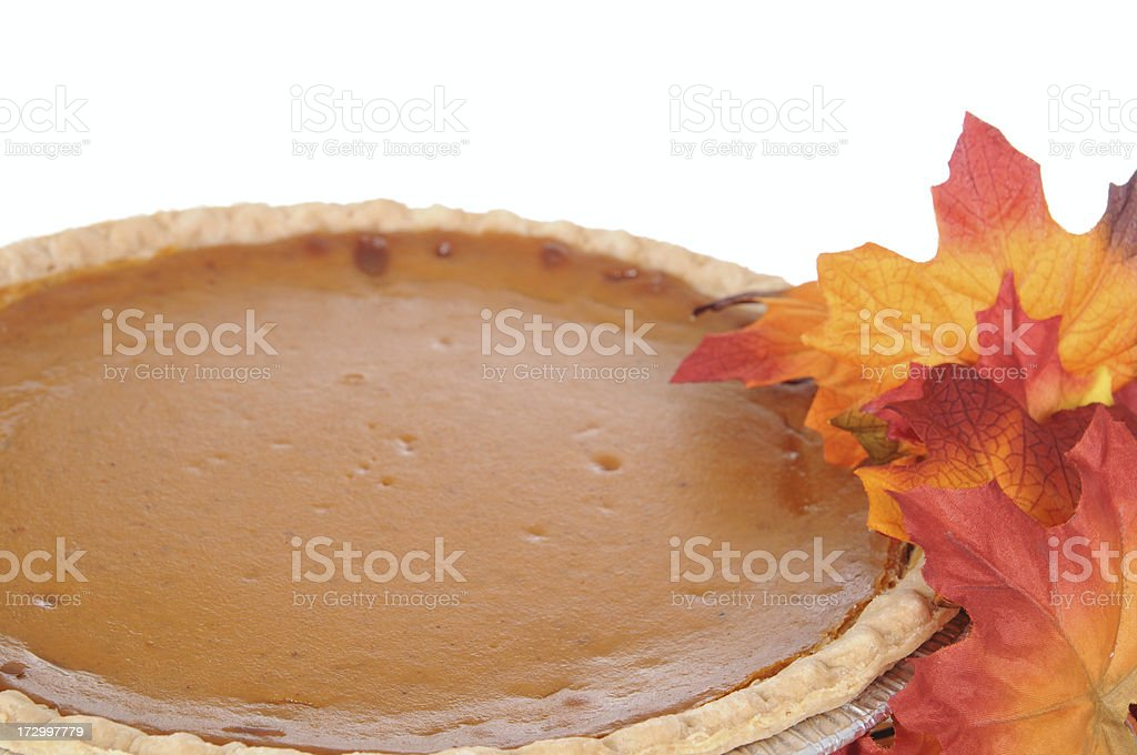 Pumpkin Pie royalty-free stock photo