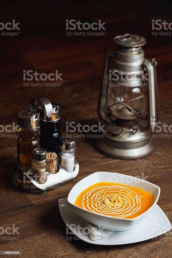Pumpkin pottage royalty-free stock photo