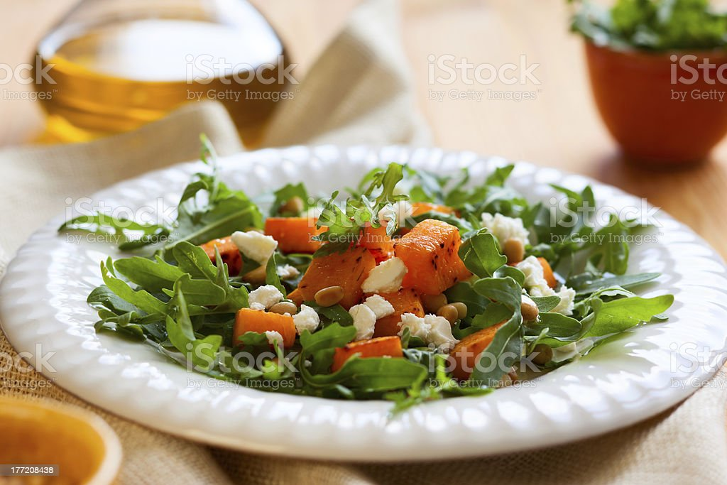 pumpkin salad royalty-free stock photo