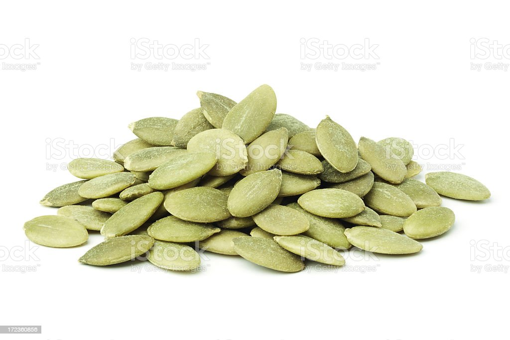 pumpkin seeds royalty-free stock photo