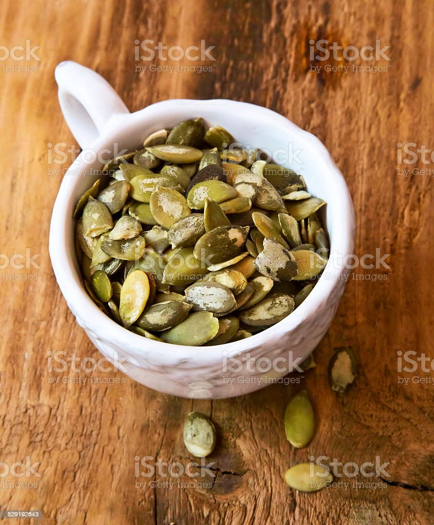 Pumpkin Seeds stock photo