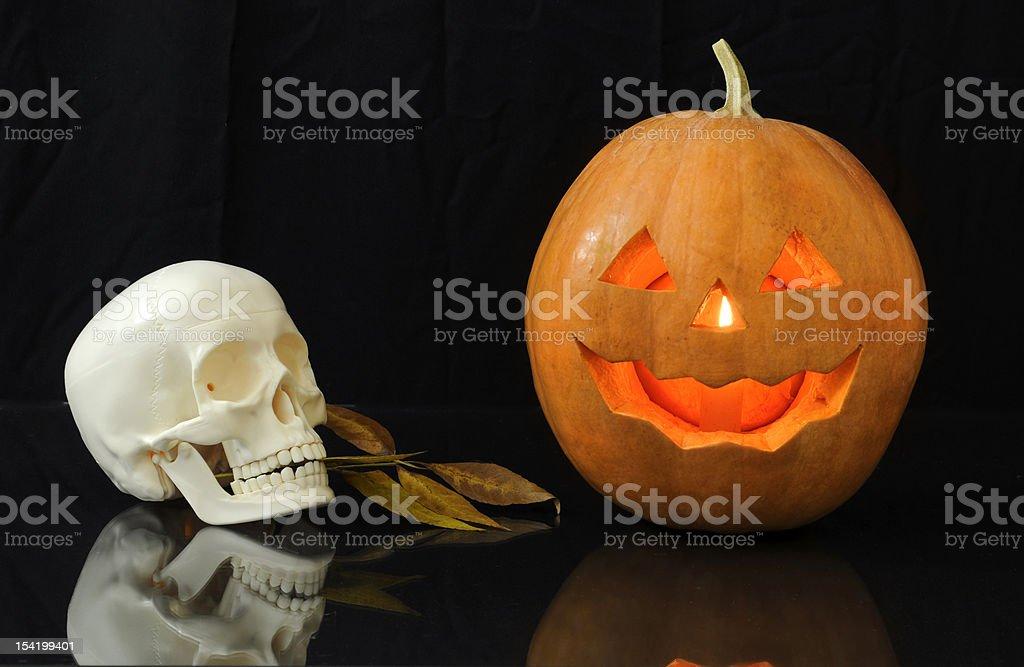 Pumpkin set royalty-free stock photo