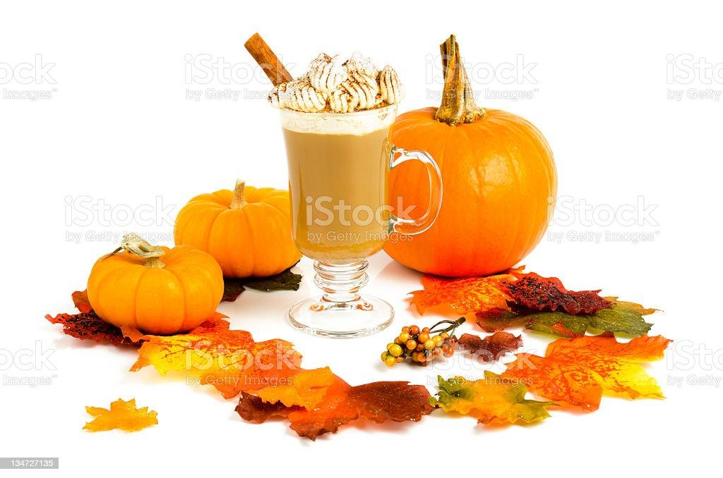 Pumpkin Spice Latte stock photo