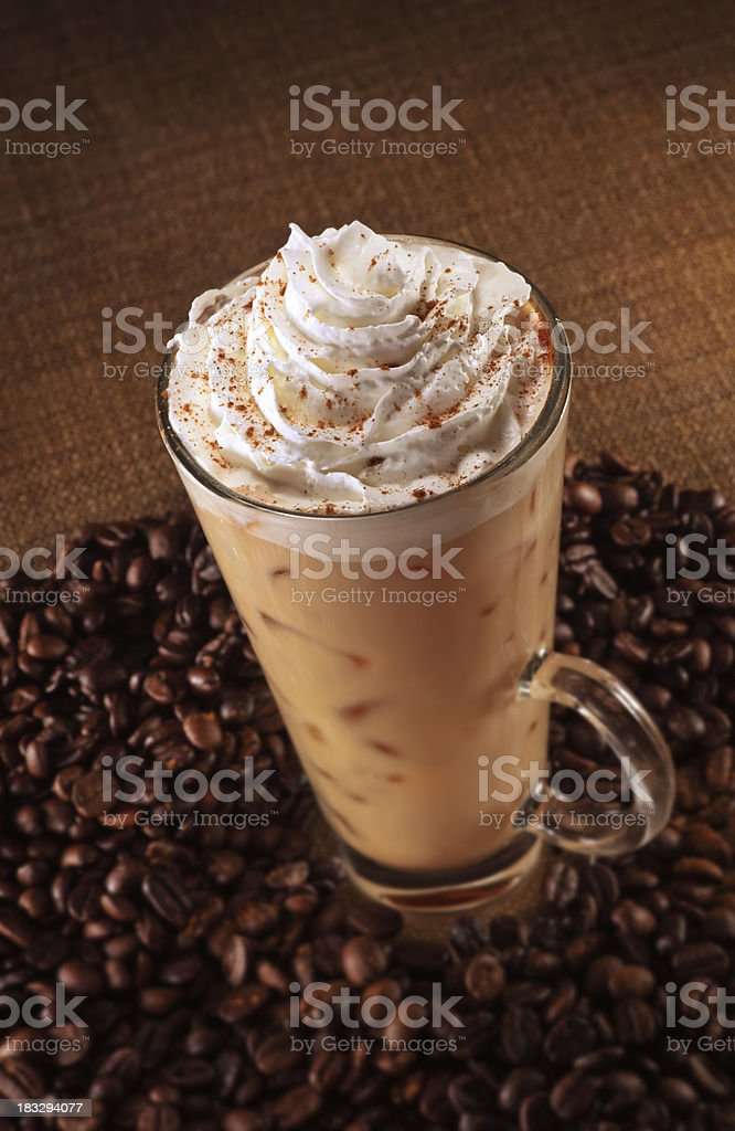 Pumpkin Spice Latte stock photo