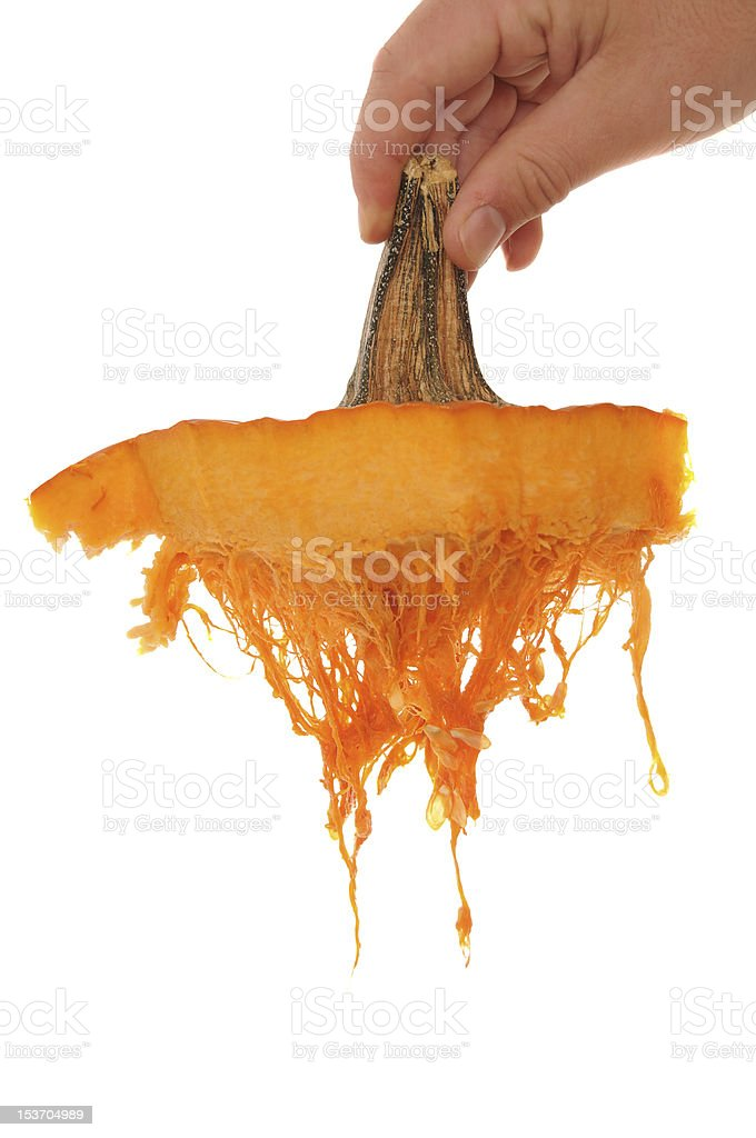 Pumpkin Top royalty-free stock photo