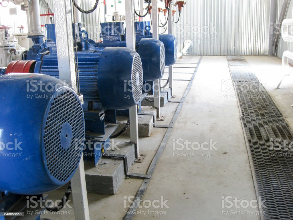 Pumps for water. stock photo