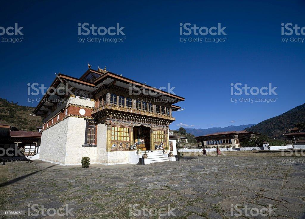 Punakha Monastery stock photo