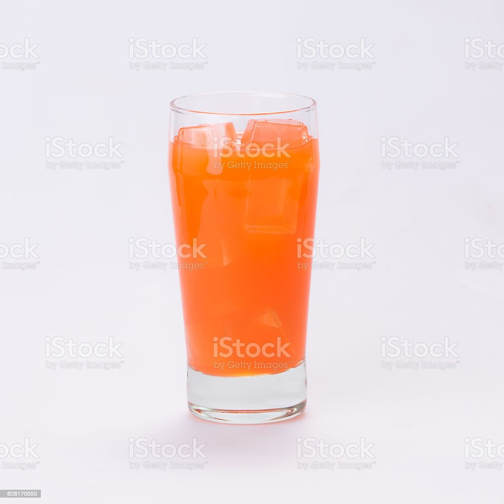 Punch a cool and refreshing. stock photo