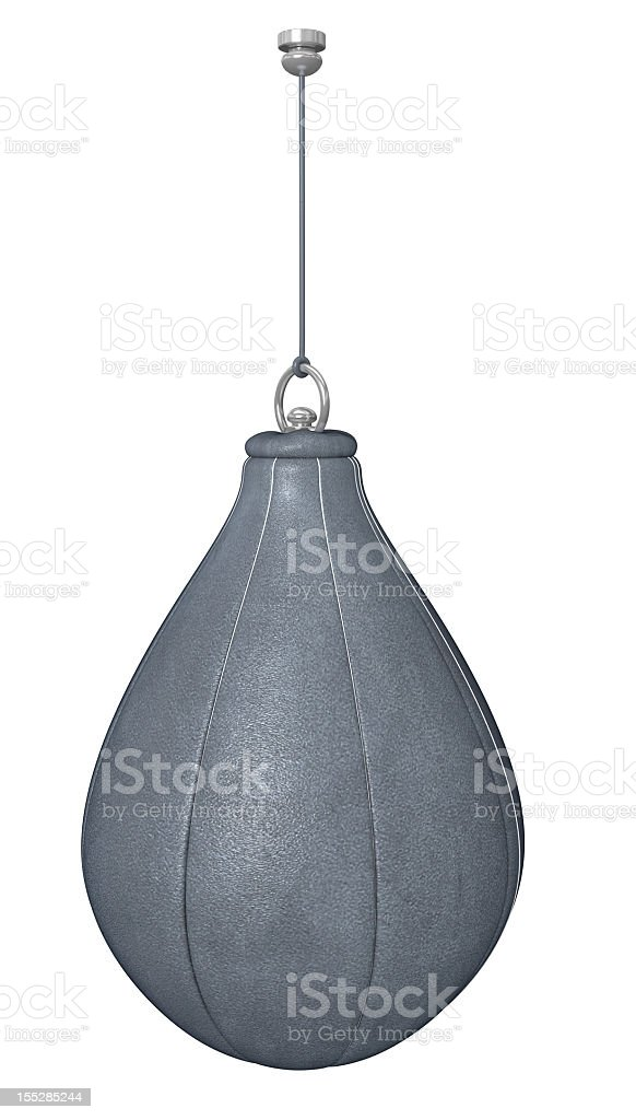 punch bag stock photo