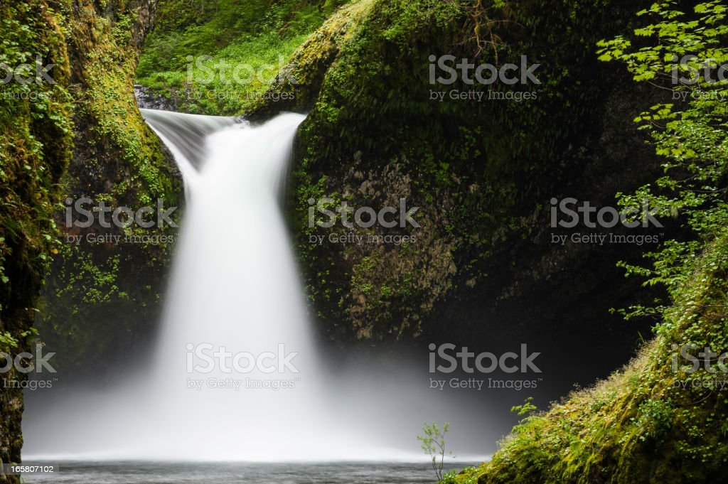 Punch Bowl Falls Columbia River Gorge Oregon stock photo