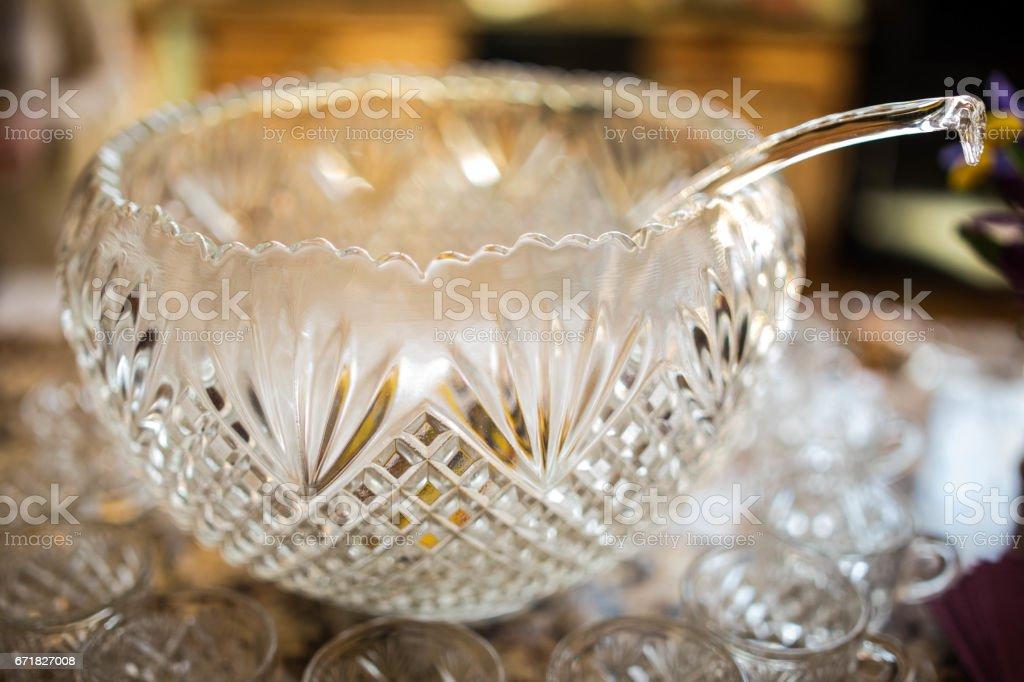 Punch Bowl stock photo