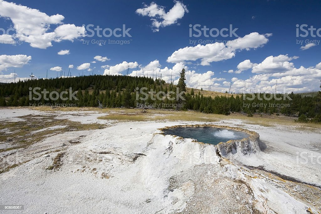 Punch Bowl Spring stock photo