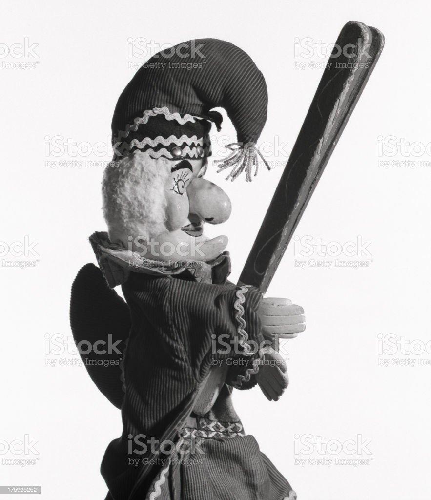 Punch & Judy royalty-free stock photo