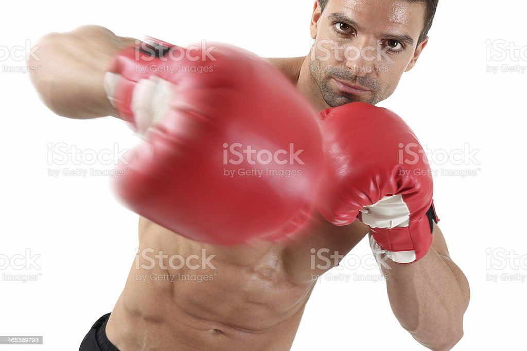 Punch royalty-free stock photo