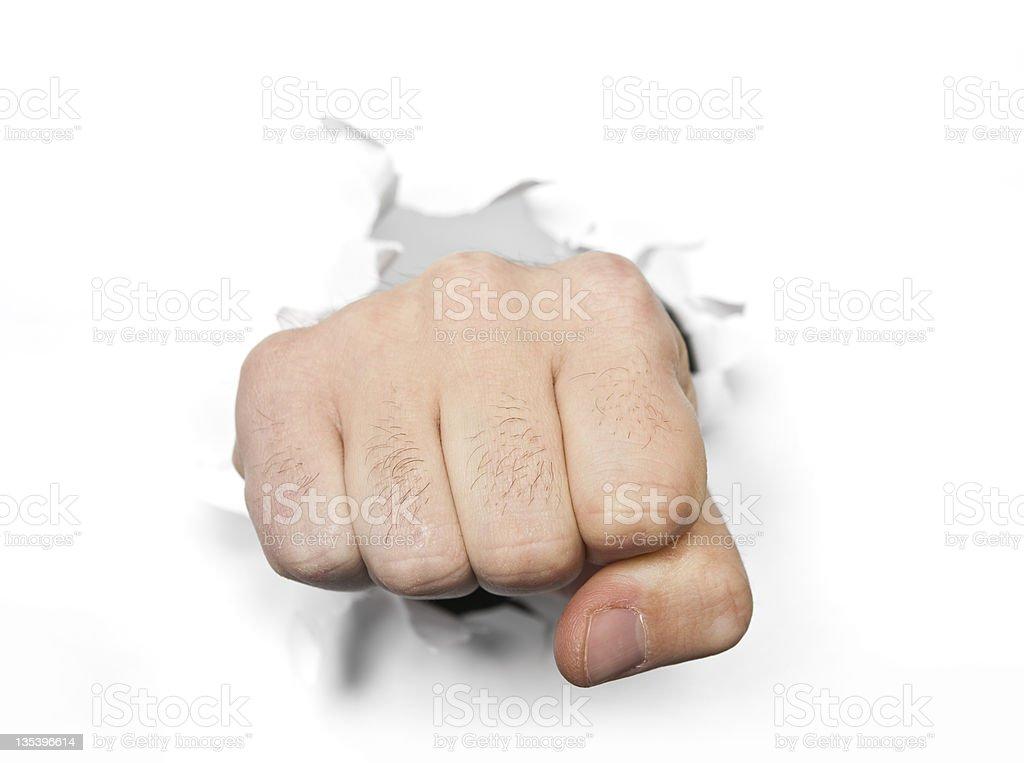 punch à papier photo libre de droits