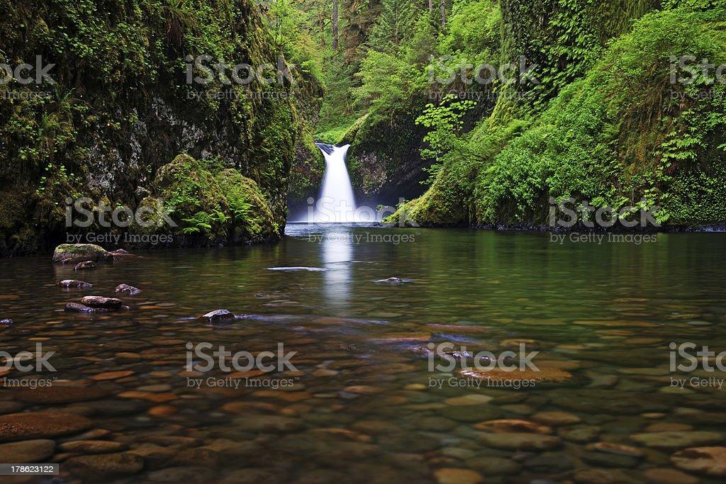 Punchbowl Fall stock photo
