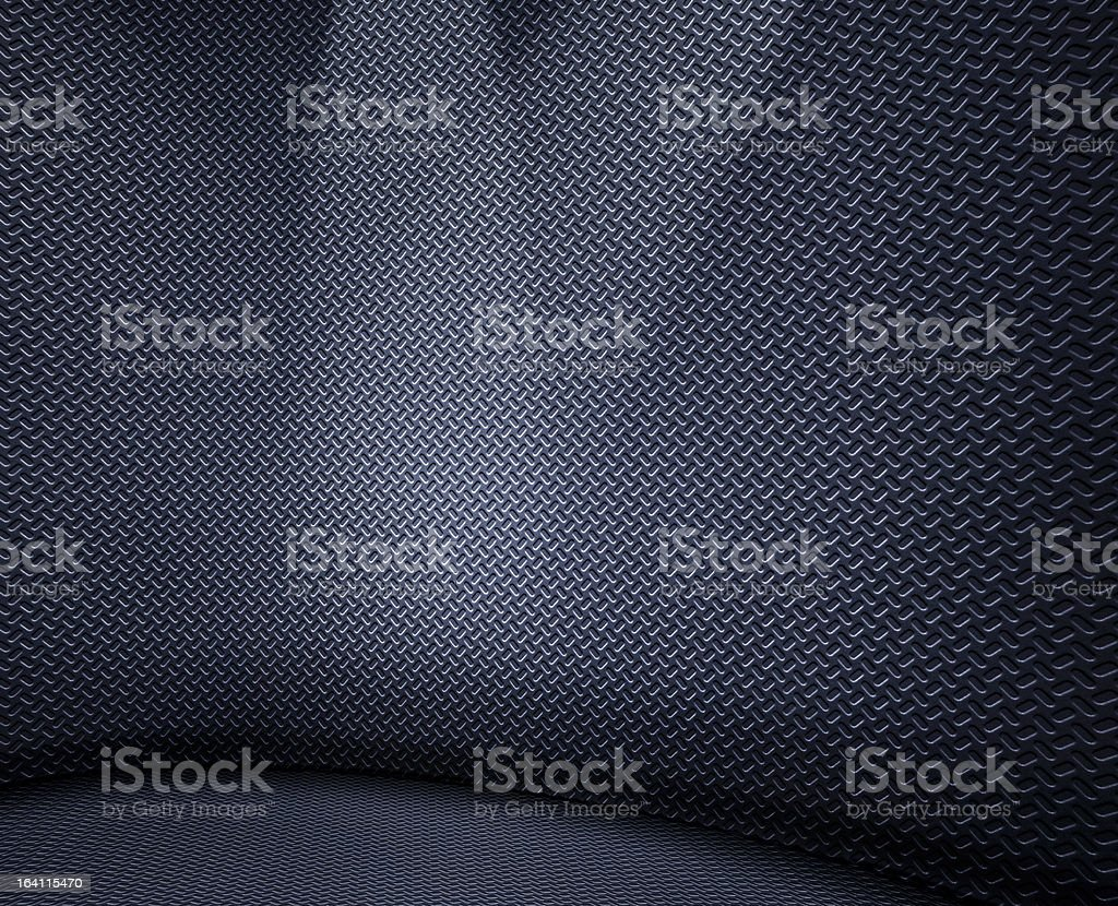Punched metal royalty-free stock photo