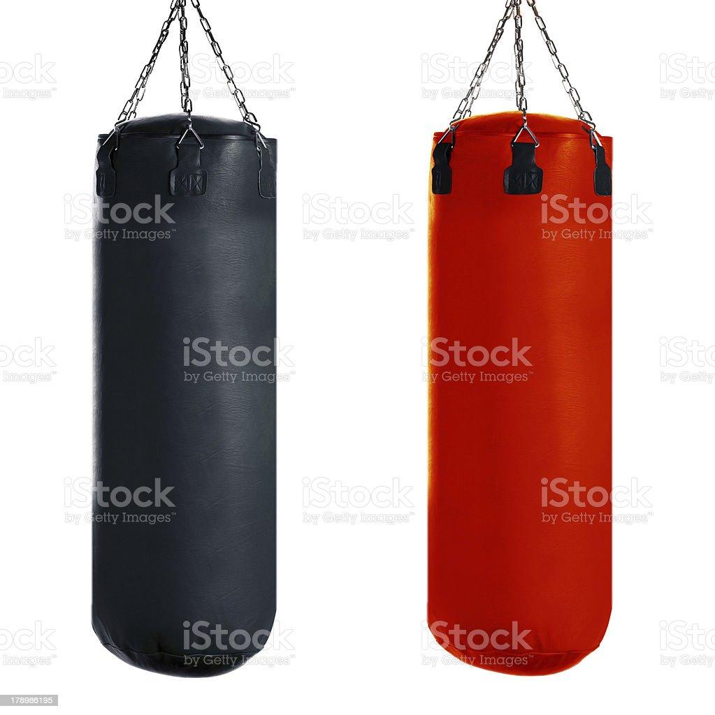 Punching bag stock photo