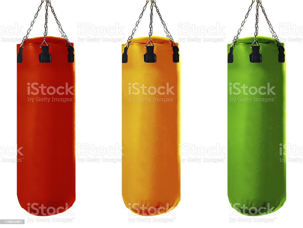 Punching bag royalty-free stock photo