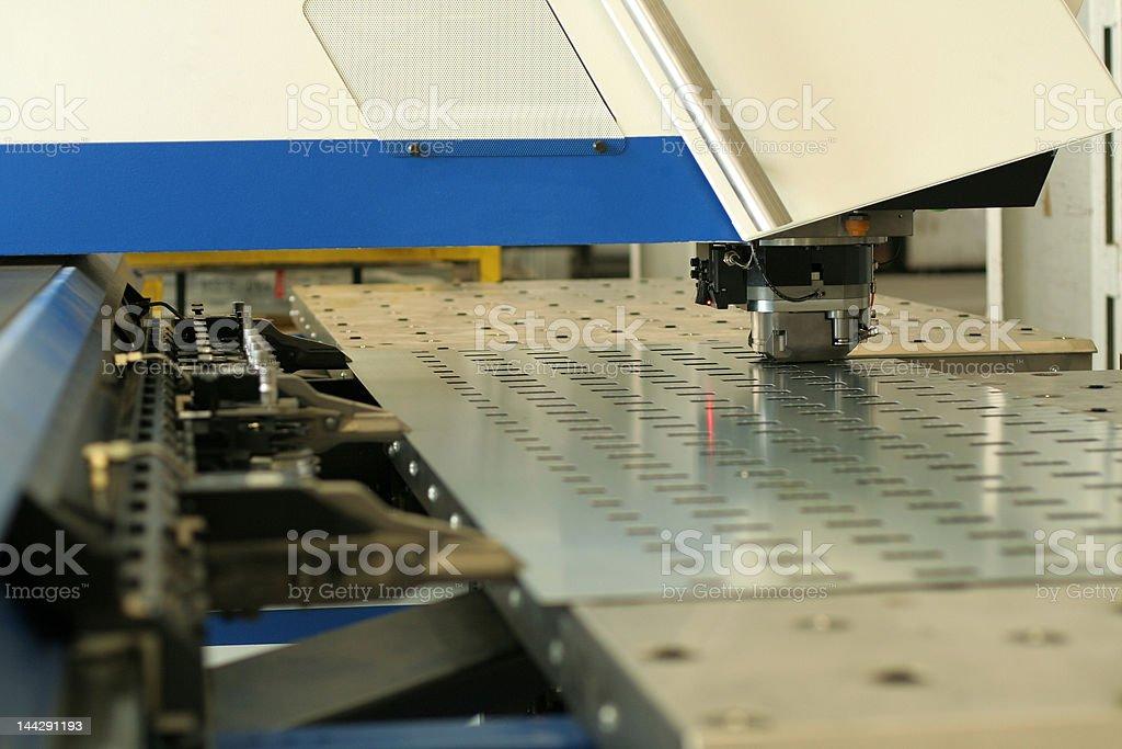 Punching machine royalty-free stock photo
