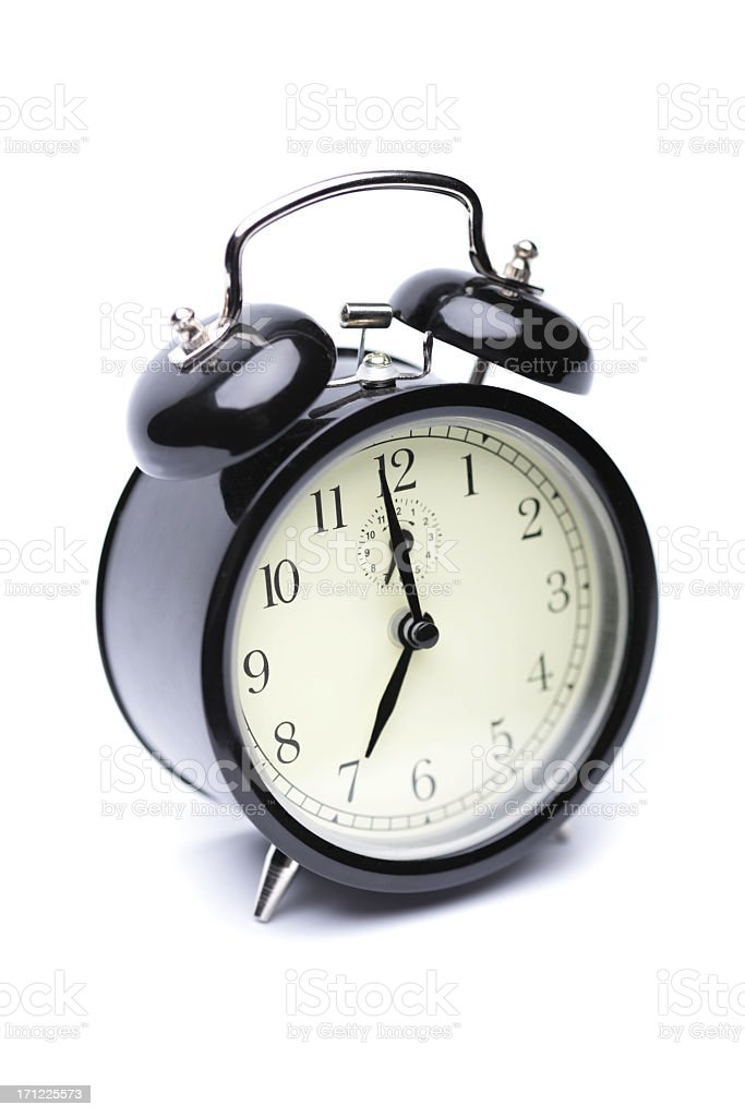 Punctuality royalty-free stock photo