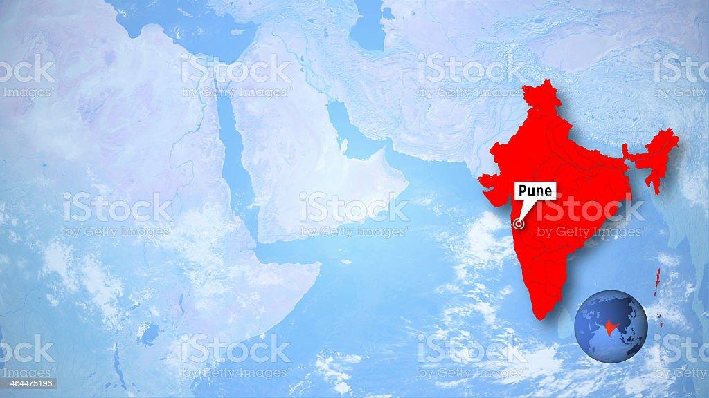 Pune stock photo