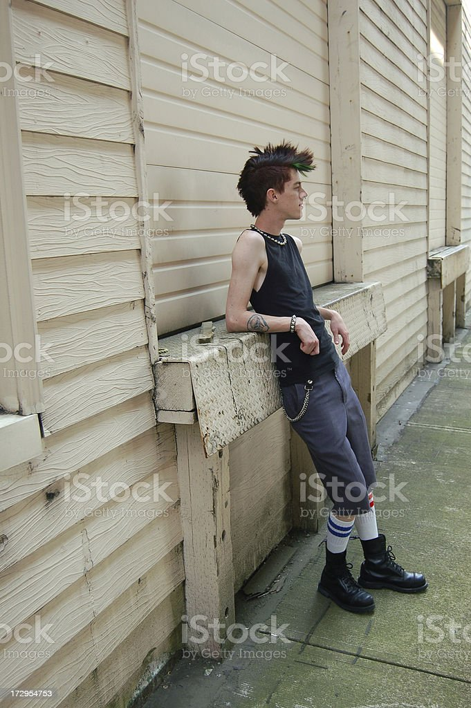 Punk by Loading Doors stock photo