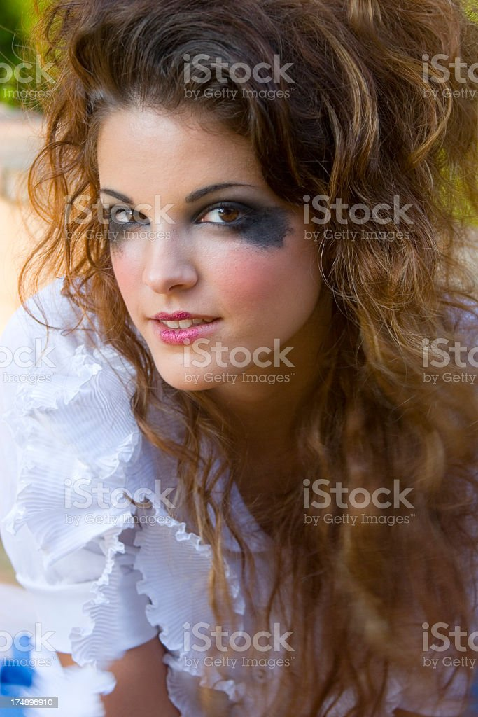 Punk Fairytale: Alice in Wonderland - Laura royalty-free stock photo