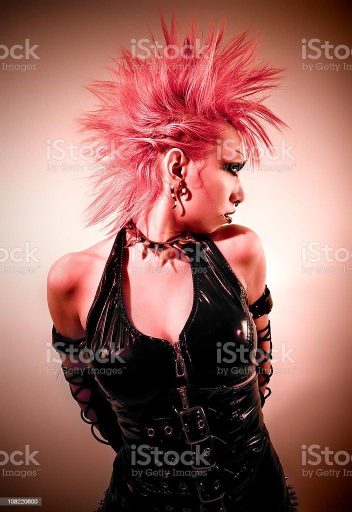 Punk Gothic stock photo